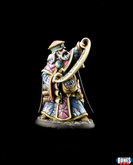 Reaper miniatures Damras Deveril, Wizard 30007