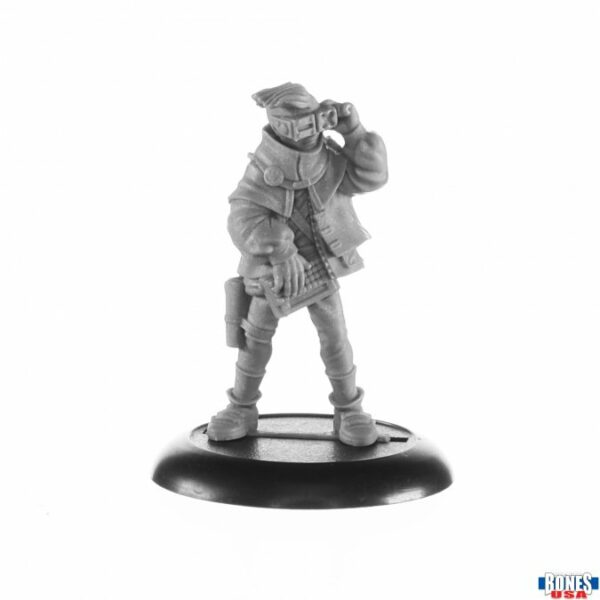 Reaper Miniatures Devo Ranks, Cyberist 30017