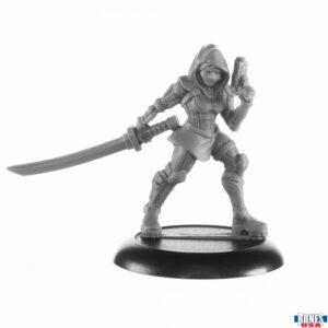 Reaper Miniatures Asanis, Mercury Flyer 30019