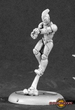 Reaper Miniatures Afterburn, Superhero 50107