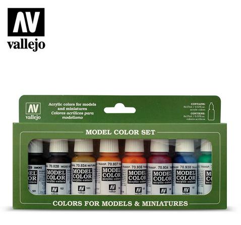 Vallejo Transparent Colors set 70.136 Model Color