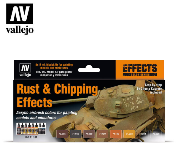 71.186 Rust and Chipping Effects 1allejo 71.186 Rust and Chipping Effects 1