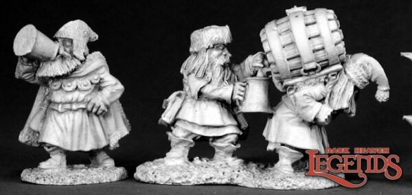 Reaper Miniatures Dwarven Brewmeister (Metal) 02559
