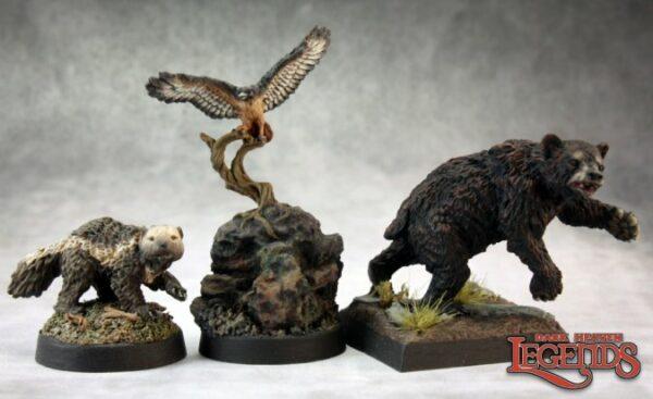 Reaper Miniatures Animal Companions I (Metal) 03456