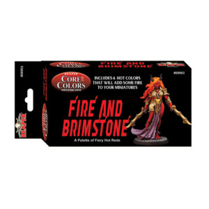 Reaper Fast Palette Fire and Brimstone Fiery Reds 09903
