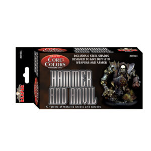 Reaper Fast Palette: Hammer and Anvil - Steel Colors 09904