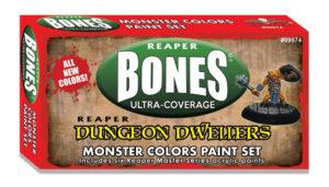 MSP Bones: Monster Colors Set 09974