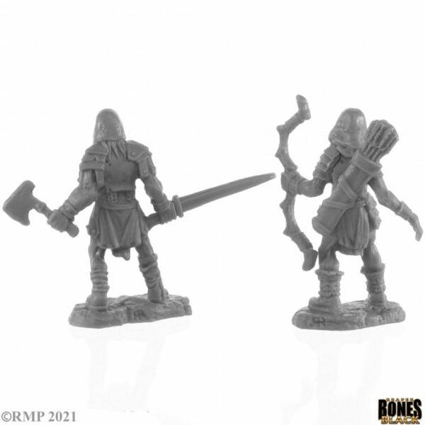 Reaper Miniatures Rune Wight Hunters (2) 44142