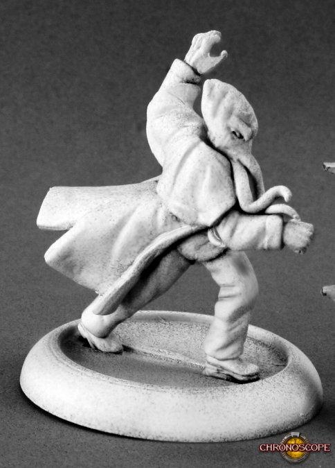 Reaper Miniatures Professor Kraken 50206 (metaal)
