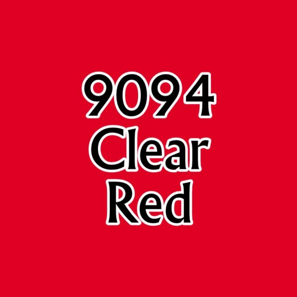 Clear Red 09094 Reaper MSP Core Colors