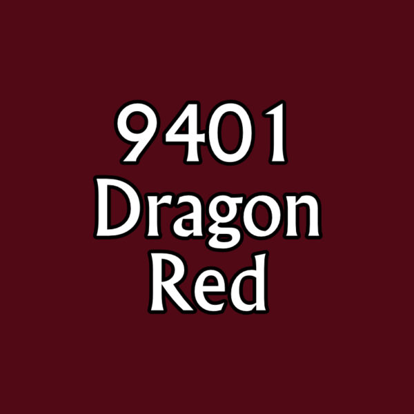 Dragon Red 09401 Reaper MSP Bones