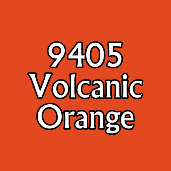 Volcanic Orange 09405 Reaper MSP Bones