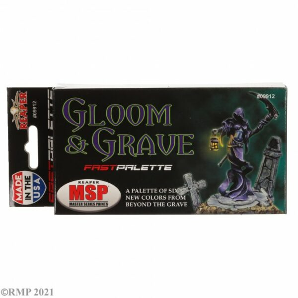Reaper Fast Palette: Gloom and Grave Colors 09912