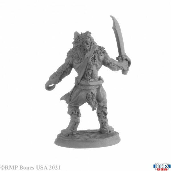 Reaper Miniatures Hakkle Blackhook, Gnoll PIrate 30038
