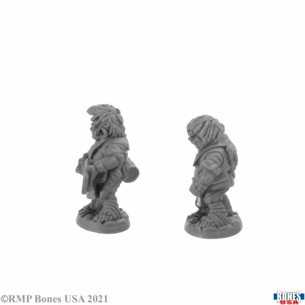 Reaper Miniatures Chop and Grub, Halfling Cooks 30044