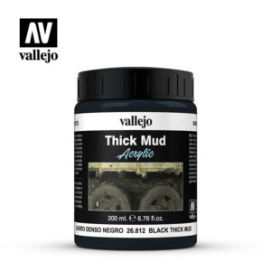 Vallejo Black Mud 200 ml 26.812