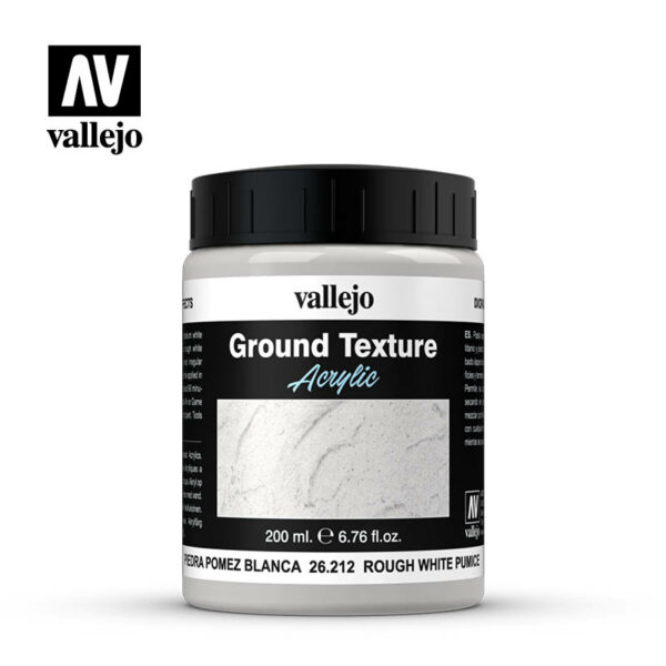 Vallejo Rough White Pumice 200 ml 26.212