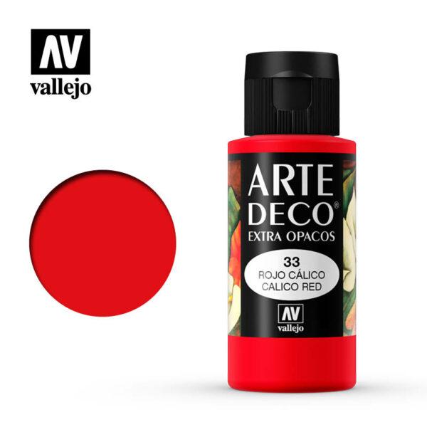 Calico Red 85.033 Arte Deco 60ml