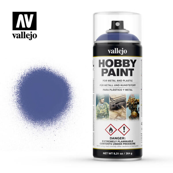 Vallejo Hobby Paint Spuitbus Ultramarine Blue 28.017