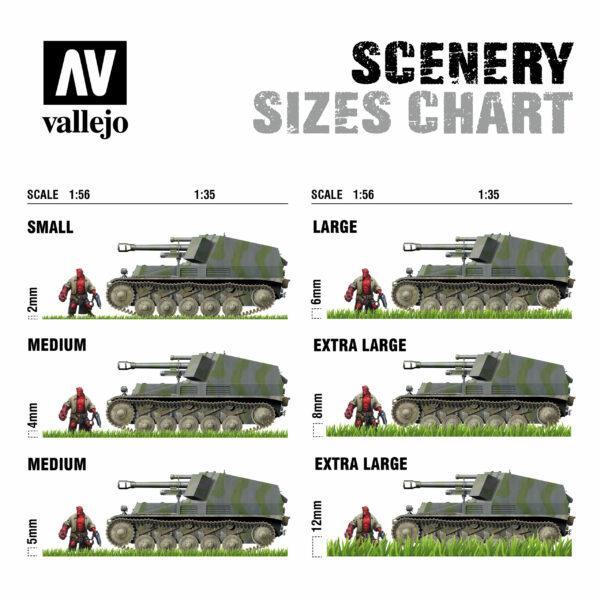Vallejo Wild Tuft Dense Beige SC412