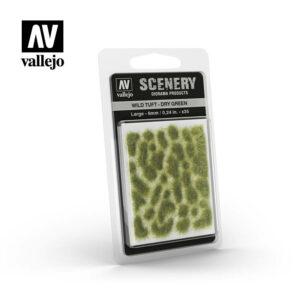 Vallejo Wild Tuft Dry Green SC415