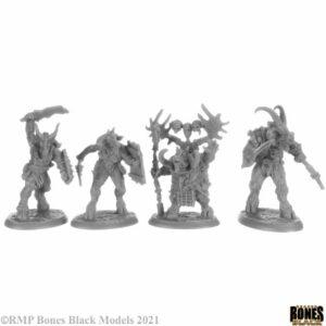 Reaper Miniatures Beastmen (4) 44152